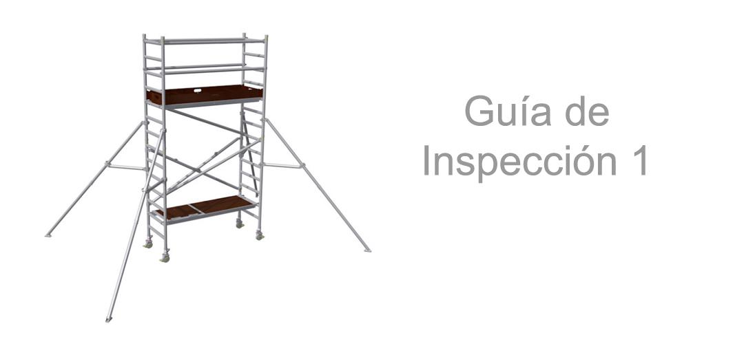 Torres de andamio móviles – Guía de Inspección 1