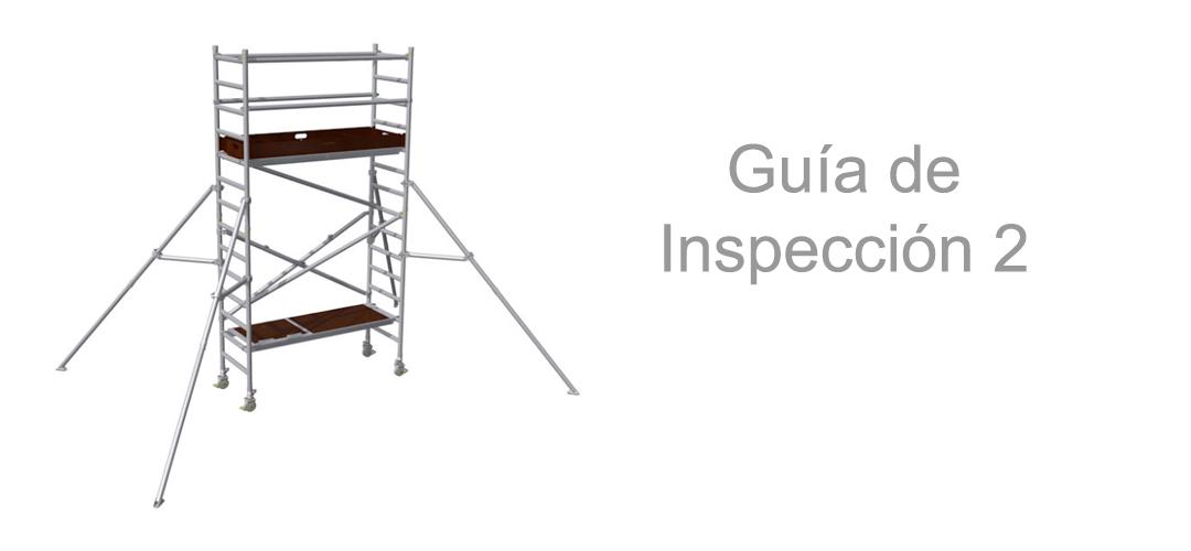 Torres de andamio móviles – Guía de Inspección 2