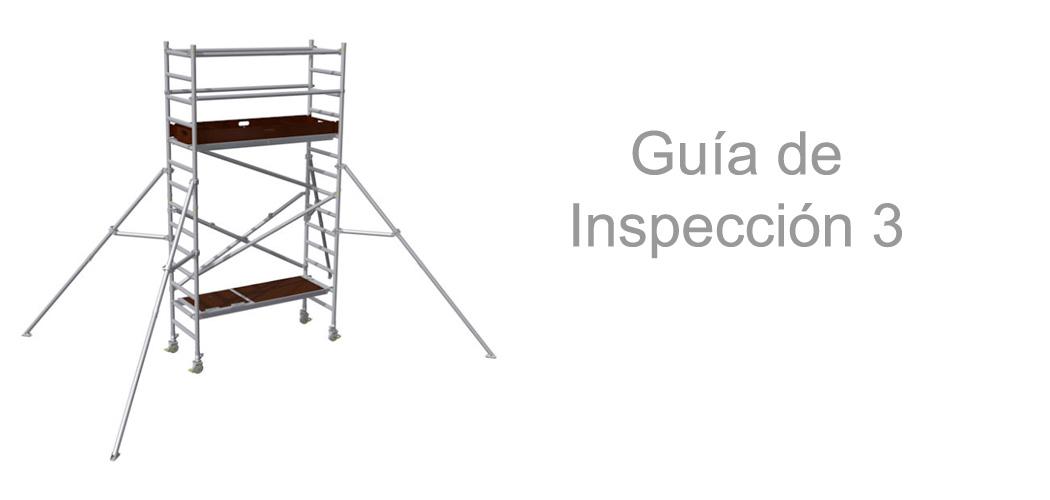 Torres de andamio móviles – Guía de Inspección 3