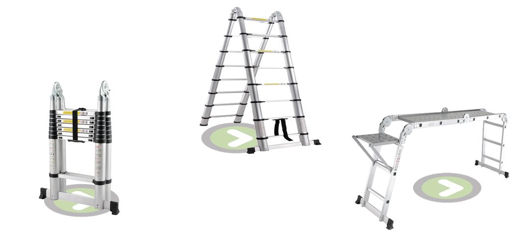 La elección de la escalera adecuada para su trabajo